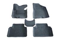 Ковры 3D ворсовые Boratex для Hyundai iX 35 2010- (цвет Серый)