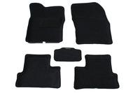 Ковры 3D ворсовые Boratex для Daewoo Nexia 2003- (цвет Серый)