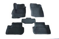 Ковры 3D ворсовые Boratex для Mitsubishi Lancer 2007- (цвет Серый)