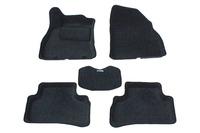 Ковры 3D ворсовые Boratex для Nissan Juke 2010- (цвет Серый)