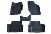 Ковры 3D ворсовые Boratex для Peugeot 408 2012- (цвет темно-серый)