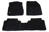 Ковры 3D ворсовые Boratex для Honda CRV 2007- (цвет Серый)