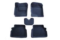 Ковры 3D ворсовые Boratex для Hyundai Gets 2002-2011 (цвет Серый)
