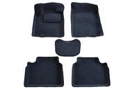 Ковры 3D ворсовые Boratex для Nissan Teana 2011- (цвет Черный)