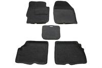 Ковры 3D ворсовые Boratex для Nissan Almera 2013- (цвет Серый)