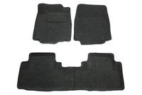 Ковры 3D ворсовые Boratex для Honda CRV 2012- (цвет Серый)