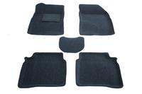 Ковры 3D ворсовые Boratex для Hyundai Sonata 2001-2010 (цвет Серый)