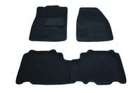 Ковры 3D ворсовые Boratex для Chevrolet Captiva 2005- (цвет Серый)