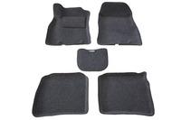 Ковры 3D ворсовые Boratex для Nissan Sentra 2014- (цвет Серый)