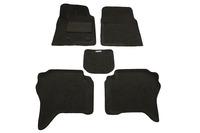 Ковры 3D ворсовые Boratex для Mitsubishi Pajero 2000- (цвет темно-серый)