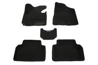 Ковры 3D ворсовые Boratex для KIA Sportage 2010- (цвет Черный)