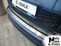 Накладки бампера без загиба Natanika для Ford C-MAX 2010- B-FO02 (1 шт.)