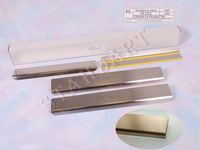 Накладки порогов Standart Natanika для Citroen C4 GRAND PICASSO 2007- PS-CI13 (4 шт.)