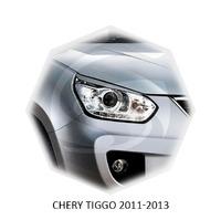 Реснички на фары CarlSteelman для Chery TIGGO 2011-2013