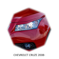 Реснички на фары CarlSteelman для Chevrolet Cruze 2008-