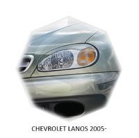 Реснички на фары CarlSteelman для Chevrolet Lanos 2005-