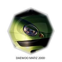 Реснички на фары CarlSteelman для Daewoo Matiz 1998-
