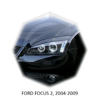 Реснички на фары CarlSteelman для Ford Focus 2004-2009