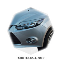 Реснички на фары CarlSteelman для Ford Focus 2011-