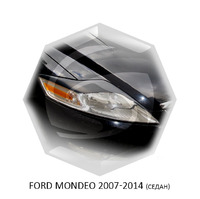 Реснички на фары CarlSteelman для Ford Mondeo 2007-2014