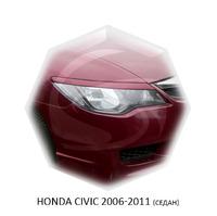Реснички на фары CarlSteelman для Honda Civic 2006-2011 седан