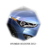 Реснички на фары CarlSteelman для Hyundai Veloster 2011-