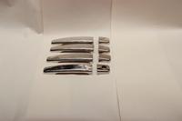 Накладки на ручки дверей из нержавеющей стали Турция для Peugeot 307 2000- (цвет хром)