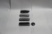 Накладки на ручки дверей из нержавеющей стали Турция для Ford Tranzit 2000- (цвет хром)