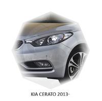 Реснички на фары CarlSteelman для KIA Cerato 2013-