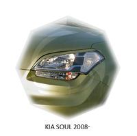 Реснички на фары CarlSteelman для KIA Soul 2008-