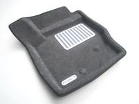 Ковры 3D ворсовые Euromat 3D ЛЮКС для Volvo XC90 2002- (цвет Серый)