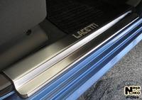 Накладки порогов Premium Natanika для Chevrolet Lacetti 2004- P-CH09 (4 шт.)
