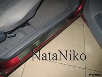 Накладки порогов Premium Natanika для Daewoo Nexia 1994-1999 P-DW03 (4 шт.)