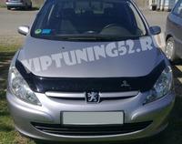 Дефлектор капота VIP TUNING для Peugeot 307 2001-2005