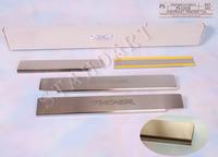 Накладки порогов Standart Natanika для Chevrolet Tracker 2013- PS-CH18 (4 шт.)