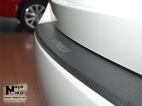 Накладки бампера с загибом Natanika для BMW X1 2009-2012 (E84) Z-BM08+k (1 шт.) Carbon