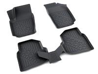 Ковры полиуретановые AGATEK для Volkswagen Polo 2010- черные