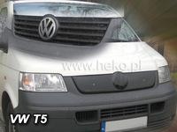 Зимняя защита радиатора Volkswagen T5 2004- (верхняя)